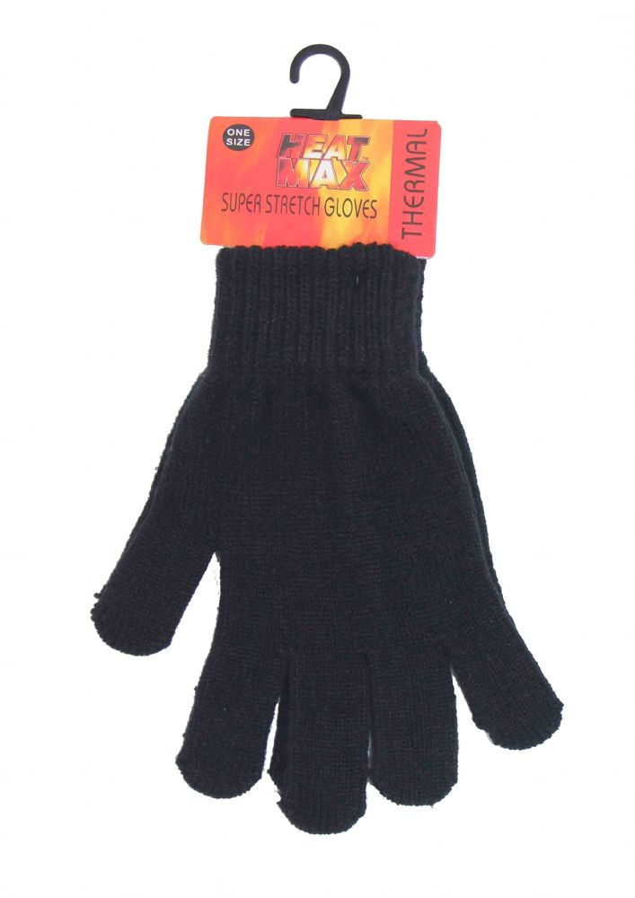 Boys thermal gloves one size black winter gloves GL620616